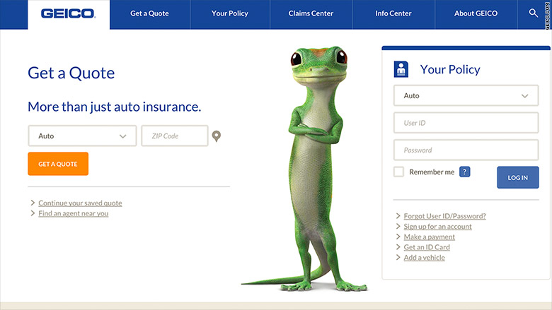 geico sign in